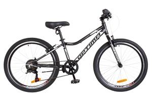 """Велосипеды Optimabikes, Велосипед Optimabikes BLACKWOOD Vbr 24"""" Al черно-белый 2018"""