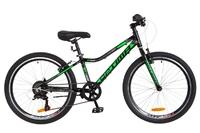 """Велосипеды Optimabikes, Велосипед Optimabikes BLACKWOOD Vbr 24"""" Al черно-зеленый 2018"""