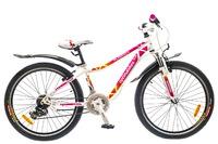 """Велосипед Optimabikes FLORIDA AM 24"""" 14G St бело-розовый 12,5"""""""