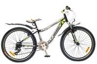 """Велосипед Optimabikes FLORIDA AM 24"""" 14G St черно-зеленый 12,5"""""""