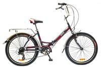 """Велосипед Optimabikes VECTOR St 24"""" St черно-красный"""