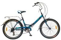 "Велосипед Optimabikes VECTOR St 24"" St черно-синий"