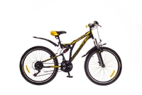 """Велосипеды Formula, Велосипед Formula STARK AM2 14G 24"""" St черно-желтый"""