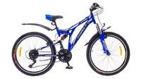 """Велосипеды Formula, Велосипед Formula STARK AM2 14G 24"""" St черно-синий"""