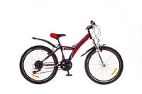 Велосипед Formula STORMY AM 14G Vbr St черно-красный