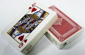 Зажигалки, Зажигалка колода карт