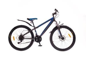 """Велосипеды Formula, Велосипед Formula DAKAR AM 14G 26"""" St DD серо-синий"""