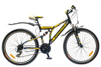 "Велосипед Optimabikes DETONATOR AM2 26"" St желтый 19"""