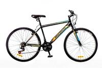 "Велосипед Discovery ATTACK 14G Vbr 26"" St черно-оранжевый"