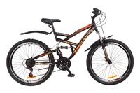 """Велосипед Discovery CANYON AM2 14G Vbr 26"""" St черно-оранжевый 2018"""
