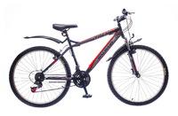 "Велосипед Discovery TREK Vbr 14G 26"" рама-18"" St черно-серо-красный"