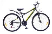 "Велосипеды Discovery, Велосипед Discovery TREK Vbr 14G 26"" рама-18"" St черно-серо-зеленый"
