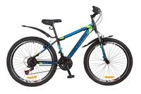 "Велосипед Discovery TREK Vbr 14G 26"" рама-15"" St черно-сине-зеленый 2018"