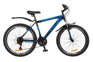 "Велосипеды Discovery, Велосипед Discovery TREK Vbr 14G 26"" рама-18"" St чёрно-синий 2018"