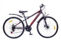 """Велосипеды Discovery, Велосипед Discovery TREK DD 14G 26"""" рама-15"""" St  черно-серо-красный"""