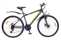 "Велосипеды Discovery, Велосипед Discovery TREK DD 14G 26"" рама-19"" St  черно-серо-зеленый"