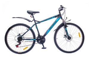 "Велосипеды Discovery, Велосипед Discovery TREK DD 14G 26"" рама-19"" St черно-сине-серый"