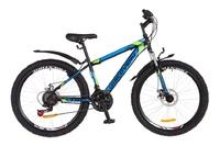 "Велосипед Discovery TREK DD 14G 26"" рама-18"" St черно-сине-зеленый 2018"