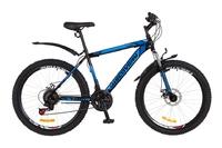 """Велосипед Discovery TREK DD 14G 26"""" рама-18"""" St чёрно-синий 2018"""