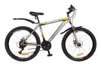 """Велосипед Discovery TREK DD 14G 26"""" рама-18"""" St серо-желтый 2018"""