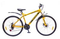 "Велосипеды Discovery, Велосипед Discovery TREK DD 14G 26"" рама-19"" St желто-серо-черный"