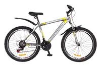 """Велосипед Discovery TREK DD 14G 26"""" рама-15"""" St серо-желтый 2018"""