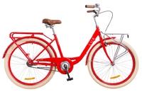"""Велосипед Dorozhnik LUX 14G 26"""" красный c багажником 2018"""