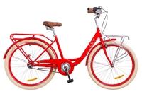 """Велосипед Dorozhnik LUX PLANETARY HUB 14G 26"""" красный с багажником 2018"""