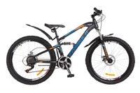 Велосипед Formula BLAZE AM 14G DD St серо-сине-оранжевый 2018