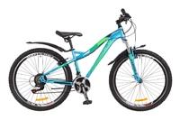 Велосипед Formula ELECTRA AM 14G Vbr голубой с зеленым 2018