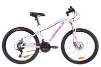Велосипед Formula MYSTIQUE 1.0 AM 14G DD рама-18 Al бело-голубой с фиолетовым 2019