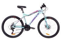 Велосипед Formula MYSTIQUE 1.0 AM 14G DD рама-18 Al бирюзовый 2019