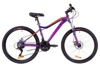 Велосипед Formula MYSTIQUE 1.0 AM 14G DD рама-16 Al фиолетово-оранжевый 2019