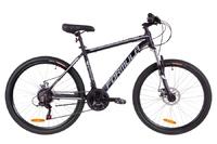 Велосипед Formula THOR 1.0 AM 14G DD рама-18 Al черно-серый с белым 2019