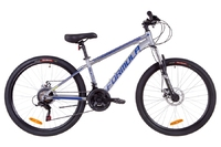 Велосипед Formula THOR 1.0 AM 14G DD рама-14 Al серо-синий с салатным 2019