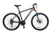 """Велосипед Leon HT-80 AM 14G DD 26"""" черно-оранжевый 2016"""