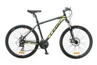 "Велосипед Leon HT-80 AM 14G DD 26"" черно-желтый 2016"