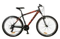 """Велосипед Leon HT-85 AM 14G Vbr 26"""" 20 черно-красный 2017"""