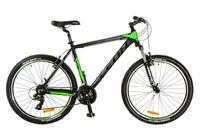 """Велосипед Leon HT-85 AM 14G Vbr 26"""" 20 черно-зеленый 2017"""
