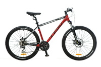 """Велосипеды Leon, Велосипед Leon XC-80 AM 14G DD 26"""" 20 красно-черно-белый 2016"""