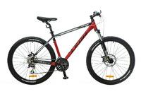 "Велосипед Leon XC-80 AM 14G DD 26"" 20 красно-черно-белый 2016"