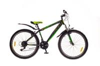 """Велосипед Formula NEVADA AM 14G 26"""" St черно-зеленый"""