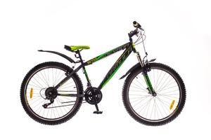 """Велосипеды Formula, Велосипед Formula NEVADA AM 14G 26"""" St черно-зеленый"""