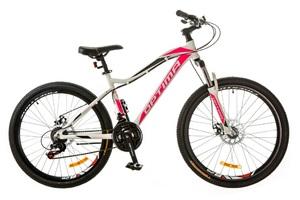 Велосипеды Optimabikes, Велосипед Optimabikes ALPINA AM 14G DD Al бело-розовый