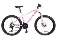 Велосипед Optimabikes ALPINA AM 14G DD Al бело-розовый с голубым 2018
