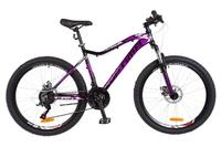 Велосипед Optimabikes ALPINA AM 14G DD Al черно-фиолетовый 2018
