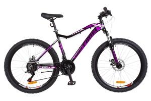 Велосипеды Optimabikes, Велосипед Optimabikes ALPINA AM 14G DD Al черно-фиолетовый 2018