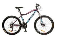 Велосипед Optimabikes ALPINA AM 14G DD Al фиолетово-голубой