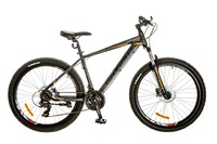 Велосипед Optimabikes F-1 AM HDD SKD 26 Al черно-оранжевый