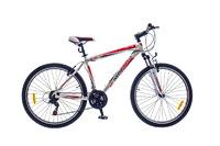 """Велосипед Optimabikes F-1 AM Vbr SKD 26"""" Al бело-красный 20"""""""